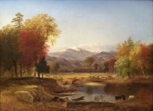 Mount Washington from the Saco Ford by Samuel Lancaster Gerry