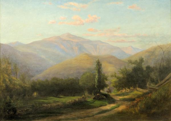 Mount Washington from Thorn Mountain, Jackson by Sylvester Phelps Hodgdon