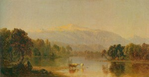 Mount Washington from the Saco River by Sanford Robinson Gifford