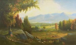 Franconia Range by Samuel W. Griggs