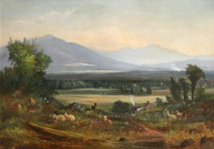 Cherry Mountain and Mount Lafayette from Jefferson Highlands by Samuel W. Griggs