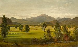 Mount Washington from the Intervale, North Conway by Samuel W. Griggs