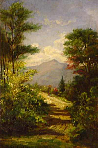 Moat Mountain from Jackson by Thaddeus Defrees