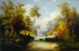 Autumn Landscape by William Charles Anthony Frerichs