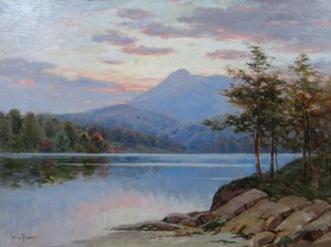 Mount Chocorua and Chocorua Lake by William F. Paskell