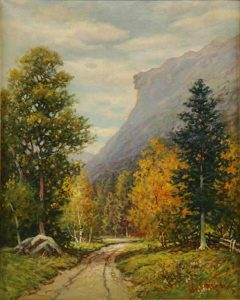 Old Man of the Mountain by William F. Paskell