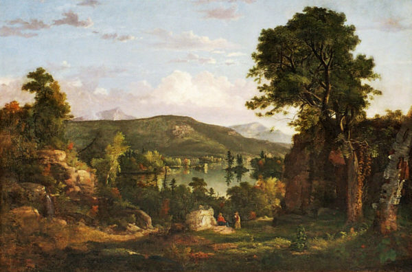 Squam Lake by William G. Boardman