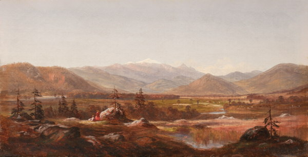 Mount Washington from the Intervale, North Conway by William Peter Benard Heine