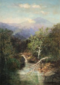 Mount Washington from the Ammonoosuc River by Frank Henry Shapleigh