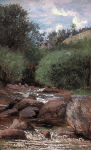 On Wildcat Brook, Jackson by Frank Henry Shapleigh