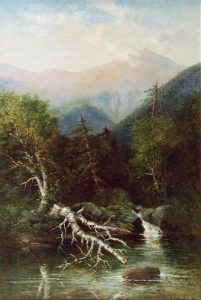 Mount Washington from the Annomoosuc River by Frank Henry Shapleigh