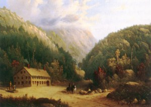 The Notch House, Crawford Notch attributed to Isaac Sprague