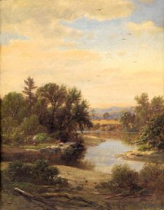 On the Saco, North Conway by James David Smillie