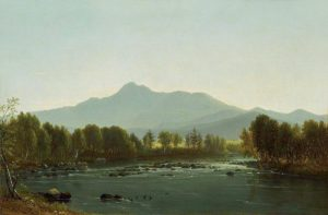 Mount Chocorua from the Saco River by Benjamin Champney