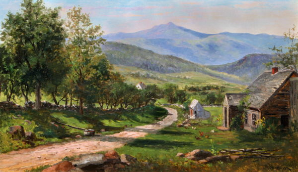 Moat Mountain from Thorn Mountain Road, Jackson by Frank Henry Shapleigh