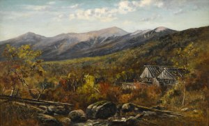 Presidential Range from Old Logging Camp near the Crawford House by Frank Henry Shapleigh