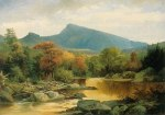 Imp Mountain and North Carter from the Peabody River, Gorham by John Mix Stanley