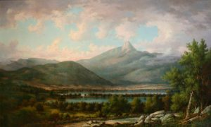 Mount Chocorua and Chocorua Lake from Tamworth by John White Allen Scott