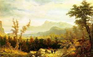Mount Chocorua and Rattlesnake Ledge by William Louis Sonntag