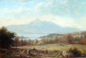 Mount Chocorua from Tamworth by William Ruthven Wheeler