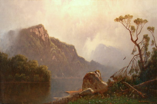 Eagle Cliff from Echo Lake by William Sheridan Young