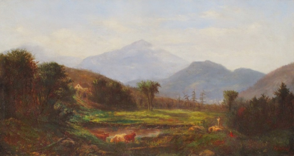Mount Madison and Leadmine Ledge from Shelburne by Philip Henry Holmes
