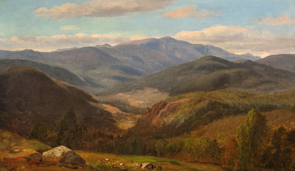 Mount Washington from Thorn Hill, Jackson by Samuel Lancaster Gerry