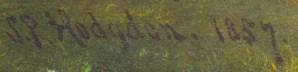 S.P. Hodgdon. 1857.