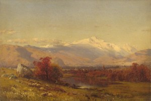 Mount Washington from North Conway by Aaron Draper Shattuck