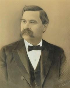 William T. Robinson (1852-1934) Self-Portrait
