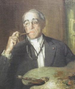 John Carleton Wiggins (1848-1932) Portrait, 1920, by Albert Rosenthal (1863-1939)