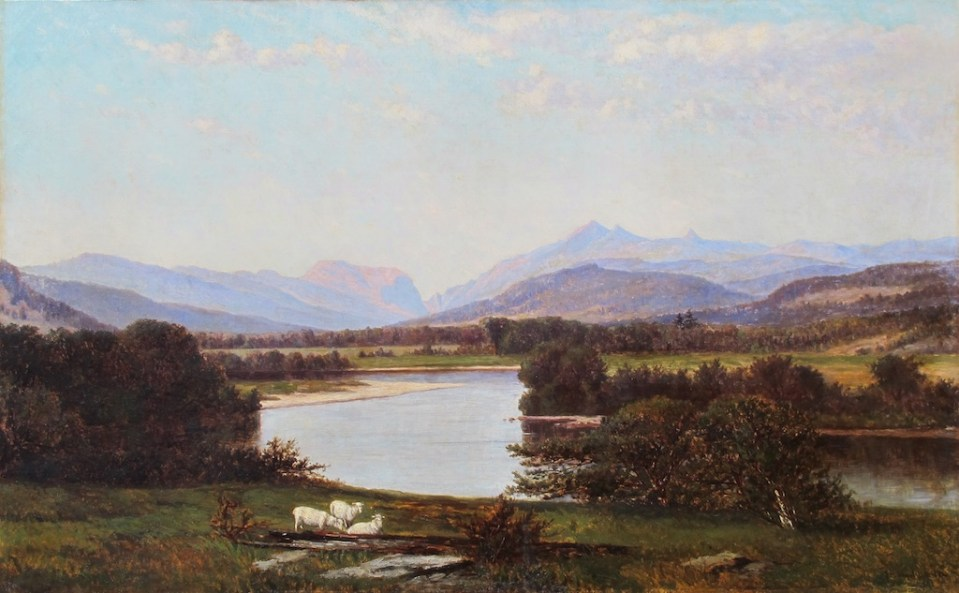 Franconia Mountains from West Campton by Frank Henry Shapleigh