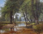 Artist Brook, North Conway by Benjamin Champney