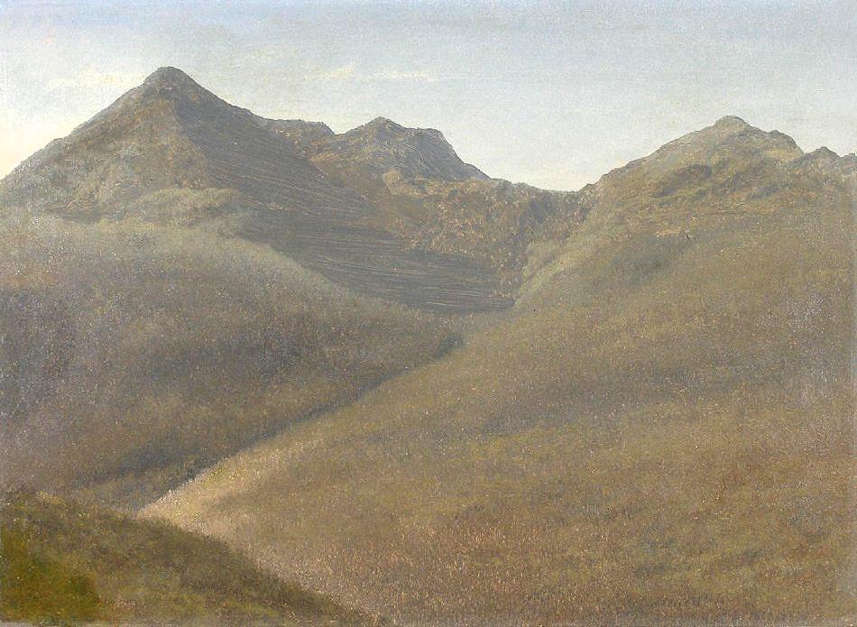 Mount Adams from Pinkham Notch by Albert Bierstadt