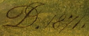 DJ. [monogram] 1871.