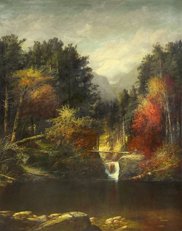 The Emerald Pool, Pinkham Notch by Harrison Bird Brown