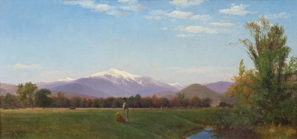 Mount Washington from the Intervale by John Ross Key