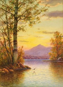 Mount Chocorua from Chocorua Lake by William F. Paskell
