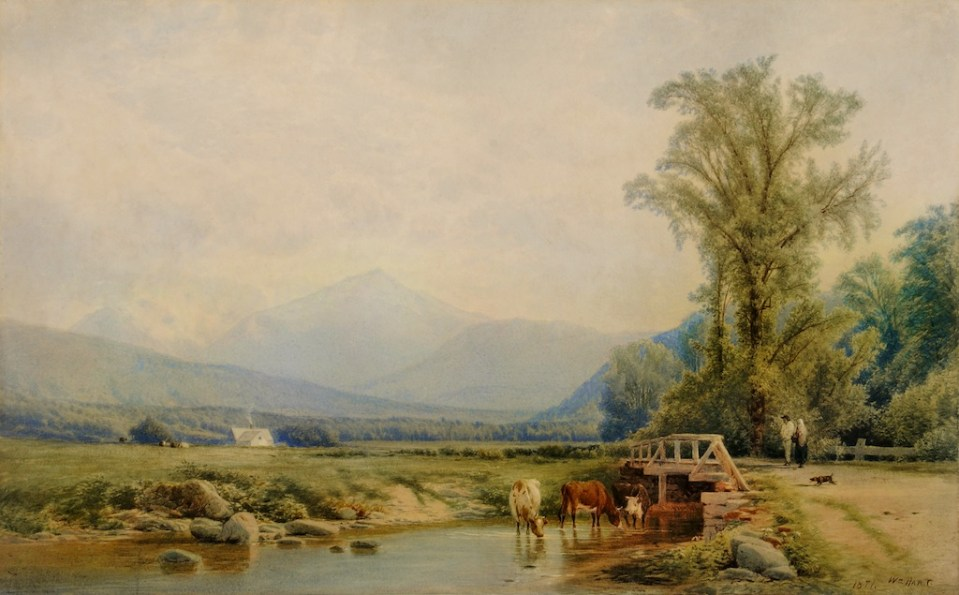 Mount Madison from Shelburne by William Hart