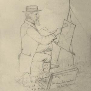 Samuel Lancaster Gerry by Benjamin Champney