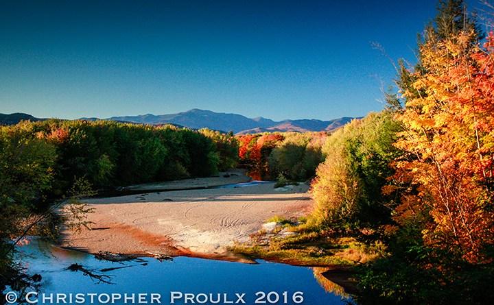 Aerial Footage – White Mountains Fall Foliage 2016