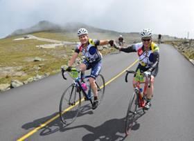 Cyclists tackle the 45th Mount Washington Auto Road Bicycle Hillclimb