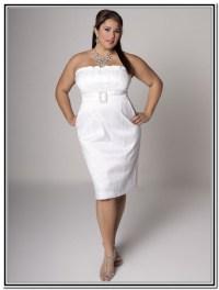 3 Short White Plus Size Party Dresses   white plus size ...