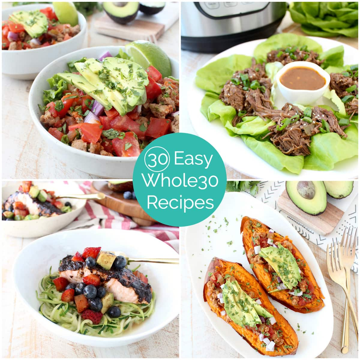 30 Minuten Küche Easy Cooking 30 Easy Whole30 Recipes 43 Shopping List Whitneybond