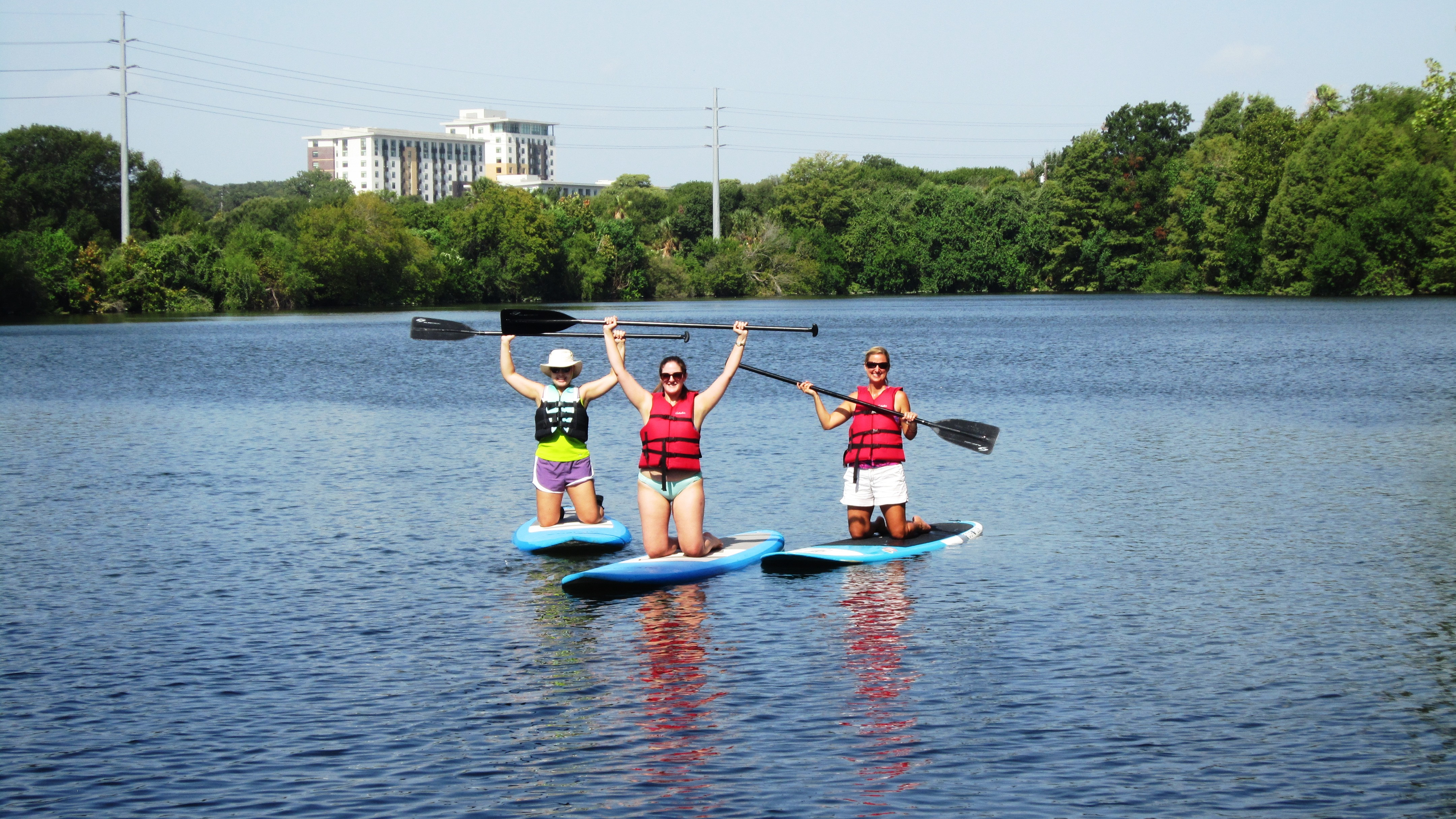 Whit 39 s wilderness my experience stand up paddling in austin for How far is waco texas from austin texas