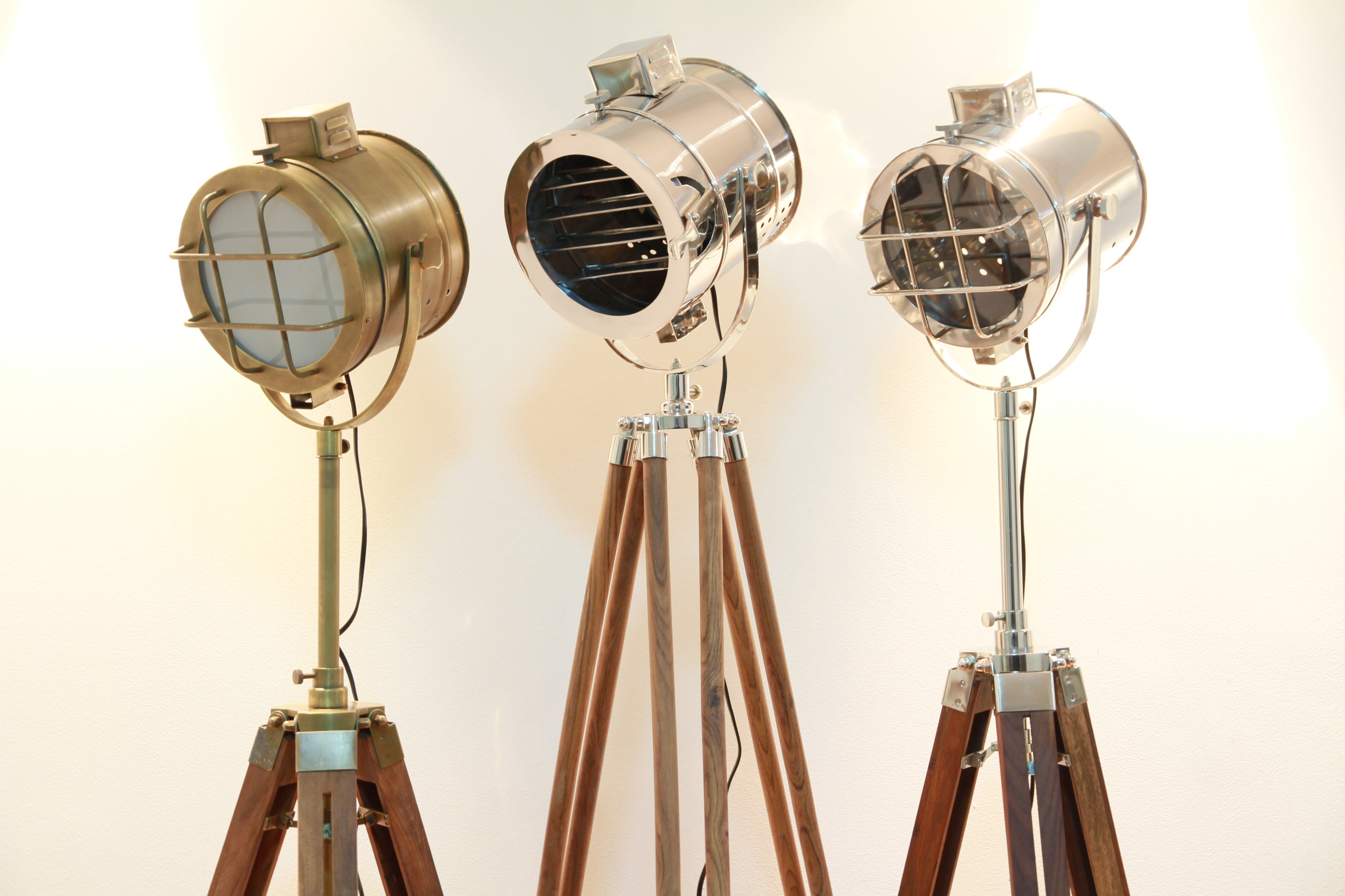 Nautical Tripod Floor Lamps A Change Of Scenery Whittington And Company