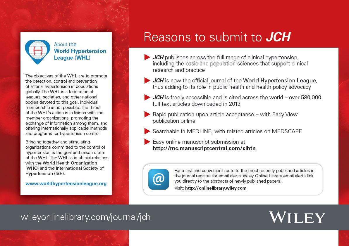 Journal Of Clinical The Journal Of Clinical Hypertension
