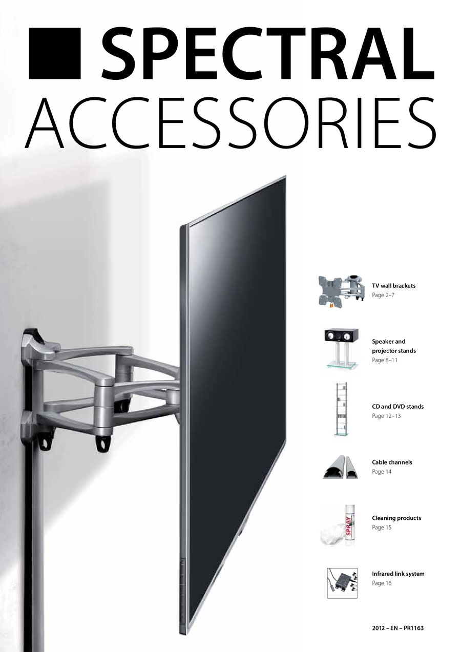 Spectral Audio Möbel Accessories 2012 By Spectral Audio Furniture