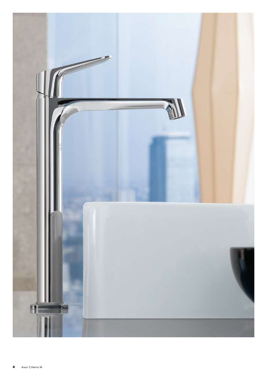Hansgrohe Citterio M Axor Citterio M 2012 By Hansgrohe International