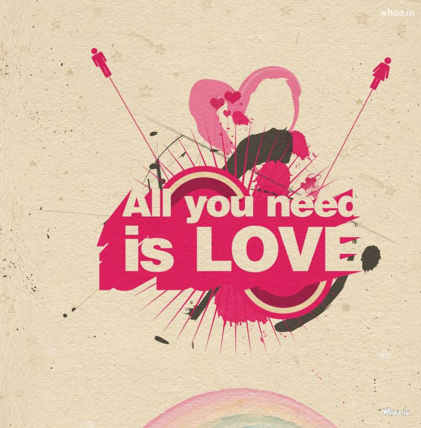 Bible Quote Wallpapers Mac All You Need Is Love Hd Love Quote Hd Wallpaper
